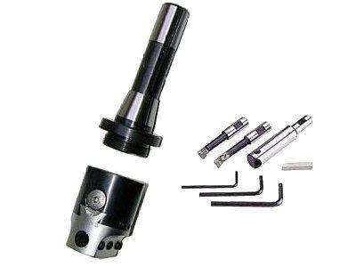Ausbohrkopf 50 mm R8 7/16-20 UNF mit Bohrstangensatz