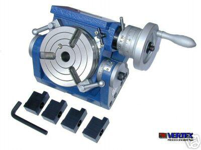 Teilapparat Rundtisch 100 mm / 0-90° schwenkbar VERTEX