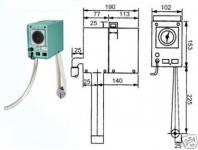 Ölabscheider Bandskimmer 800 mm Zeitsteuerung 24/St.
