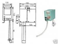 Ölabscheider Bandskimmer 40 x 550 mm Band 230V 4 L/h