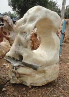 OZEANFINDLING Findling 110x95cm Naturstein Asia Show Stone Dekostein Stein Onyx