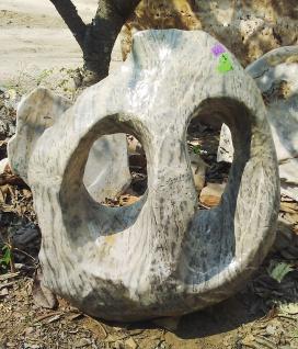 OZEANFINDLING Findling 105x86cm 388kg Natur Stein Asia Show Stone Dekostein
