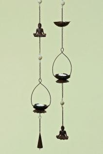 Deckenhänger BUDDHA Teelicht Halter 2 Sorten Dekoration Figur Feng Shui