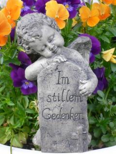 Engel Im stillen Gedenken Grabengel Grabschmuck Trauerengel Polyresin Grab