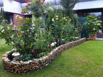 Mauergitter Mauer max 464cm lang 20cm hoch Gabione Hochbeet Gartendeko Bellissa - Vorschau 4