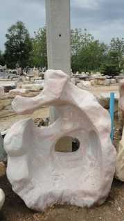 OZEANFINDLING Findling 120x100cm Naturstein Asia Show Stone Dekostein Stein