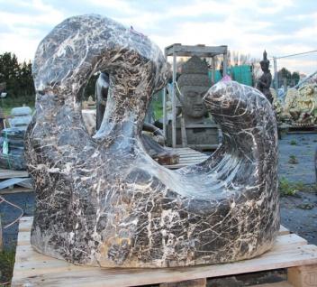 OZEANFINDLING Findling 96x105x76cm Naturstein Meeresgestein Dekostein Stein