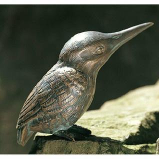 Bronzefigur Eisvogel H13, 5cm Rottenecker Bronze Vogel Vögel Dekoration Figur