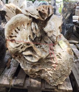 OZEANFINDLING Findling 80x75cm Naturstein Meeresgestein Dekostein Skulptur Stein