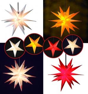 WEIHNACHTSSTERN 55-60cm FALTSTERN Außenstern Adventstern Stern Weihnachten