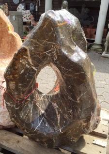 OZEANFINDLING Findling H70cm 120kg Naturstein Meeresgestein Dekostein Stein - Vorschau 5