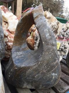 Ozeanfindling Findling 69x58cm 105kg Naturstein Meeresgestein Skulptur Stein - Vorschau 5