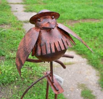 Windspiel g nstig sicher kaufen bei yatego for Gartenstecker metall rostoptik