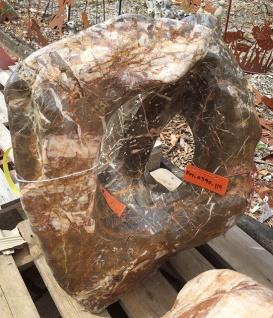 OZEANFINDLING Findling H70cm 120kg Naturstein Meeresgestein Dekostein Stein - Vorschau 4
