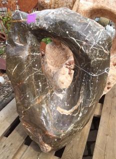 OZEANFINDLING Findling H70cm 120kg Naturstein Meeresgestein Dekostein Stein - Vorschau 3