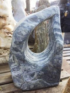 Ozeanfindling Findling 78x52cm 142kg Naturstein Meeresgestein Skulptur Stein