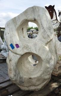 OZEANFINDLING Findling 112x87cm 490kg Naturstein Asia Show Stone Skulptur Stein