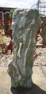 ATLANTIS GRÜN H 104cm Quellstein Naturstein Wasserspiel Steinbrunnen Gartendeko - Vorschau 2