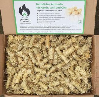 1 kg bis 10 kg Holzwolle Anzünder Grillanzünder Kaminanzünder Ofenanzünder Bio - Vorschau 1