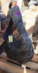 OZEANFINDLING Findling H81cm 101kg Naturstein Meeresgestein Dekostein Stein