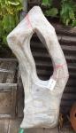 OZEANFINDLING Findling 112x54cm 77kg Naturstein Asia Show Stone Skulptur Stein