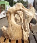 OZEANFINDLING Findling 101x99cm 330kg Naturstein Asia Show Stone Dekostein Stein