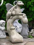 Drache Yolande 104 cm Steinfigur Fabelwesen