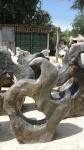 OZEANFINDLING Findling 114x100cm Naturstein Asia Show Stone Dekostein Stein