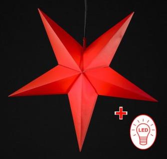 Stern Weihnachten.Led Weihnachtsstern ø 55 60cm Faltstern Außenstern Adventstern Stern Weihnachten