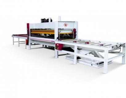WINTER Massivholz Verleimpresse SOLID 3013-100 T - PLC Automatic