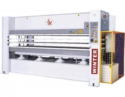 WINTER Furnierpresse SOLID 2513-200/6 (6-Etagen)