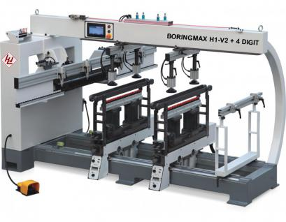 WINTER Dübel- u. Lochreihenbohrmaschine BORINGMAX H1-V2+4 DIGIT