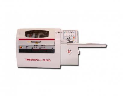 WINTER Vierseitenhobel - Kehlautomat TIMBERMAX 4-23 ECO