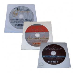 Kirby DVD SENTRIA in Deutsch, Englisch, Italenisch