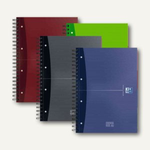 Collegeblock European Book, Karton, A4+, kariert, 90g/m², 120 Bl., 100104738