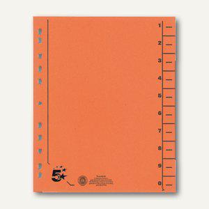 officio Trennblätter für DIN A4, 24 x 30 cm, 230 g/m², orange, 100 Stück - Vorschau