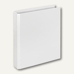 "Ringbücher "" Basic"", DIN A5, PP, 2 D-Ringe Ø 25 mm, weiß, 10 Stück, 1151090"