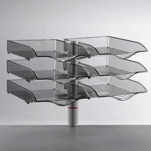 Novus CopySwinger Duo III, 2x3 Schalen, DIN B4, anthrazit, 721+6005+000