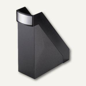 "Helit Büro-Stehsammler "" linear"", extra-breit 102 mm, schwarz, H63615.95"