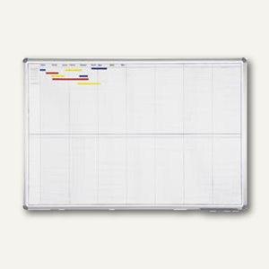 Hebel Jahresplaner 14 Monate, 2x7 Monate variabel, 100x150 cm, grau, 6497684
