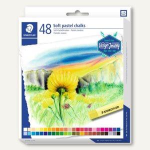 Soft-Pastellkreiden Design Journey, farbig sortiert, 48er Kartonetui, 2430 C48