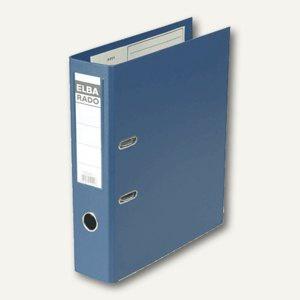 Elba Ordner RADO-Plast DIN A4, 80 mm, blau, 100022626