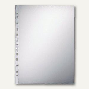 LEITZ Prospekthüllen DIN A4, PP 100 my geprägt, oben offen, 100 Stück, 4704-00-00