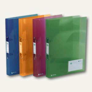 Rexel Ringbuch ICE Standard, 2-Ring-Reißmechanik, PP, farbig sortiert, 10 St, 2102044