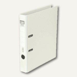 Elba Ordner RADO-Lux-Brillant DIN A4, Rücken 50 mm, weiß, 100022611