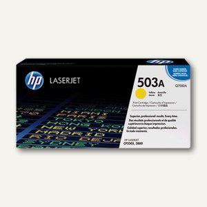 HP Toner Nr. 503A, ca. 6.000 Seiten, gelb, Q7582A