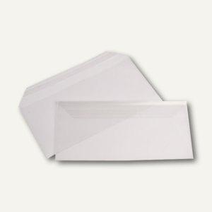Briefumschläge PP-Folie, DIN lang, 100 my, haftklebend, transparent, 1.000 Stück