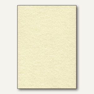Sigel Struktur-Papier, DIN A4, Perga champagne, 90 g/m², 100 Blatt, DP605