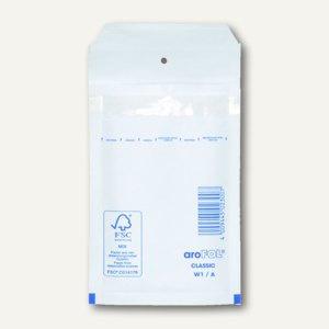 officio Luftpolstertasche A, 120 x 175 mm, weiß, 200 Stück