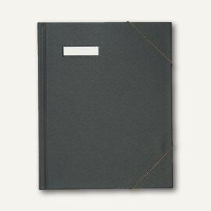 Elba Umlaufmappe color, DIN A4, 300 Blatt, PVC, schwarz, 100420824